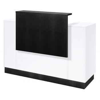 SC06 Black with White Quartz Top