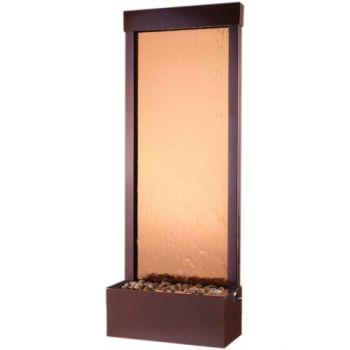 8 ft Rear Mount Dark Copper Gardenfall with Bronze Mirror
