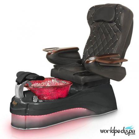 Gulfstream Ampro Pedicure Chair - 9660 Black Black