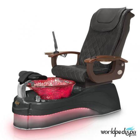 Gulfstream Ampro Pedicure Chair - 9620 Black