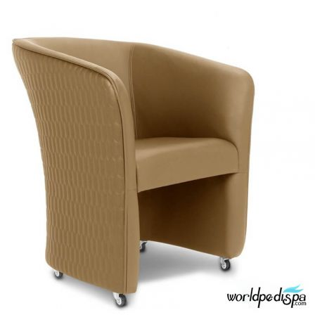 Gulfstream Ampro Spa Pedicure Chair  +Verona 58 pcs Package Collection - Butterscotch Tube Chair