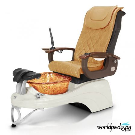 Gulfstream Camellia 2 Pedicure Chair - Butterscotch
