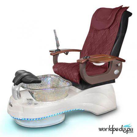 Gulfstream Camellia Pedicure Chair - Hollyhock