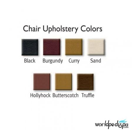 Gulfstream GS Kimberly Pedicure Bench - Upholstery Color Options