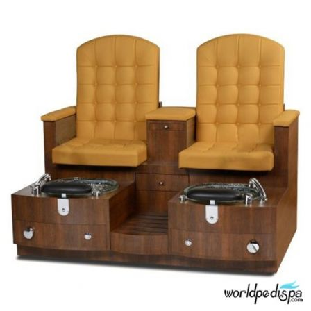 Gulfstream GS Paris Double Pedicure Bench