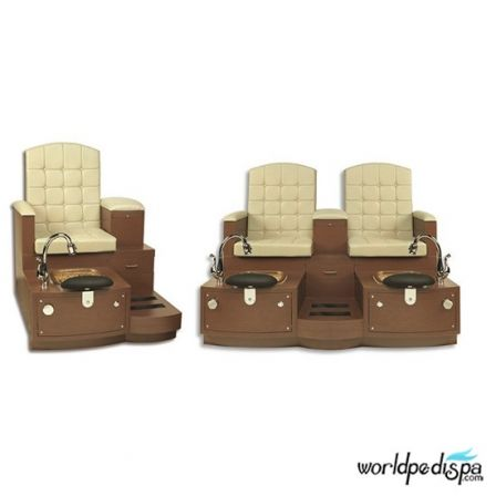 Gulfstream GS Paris Double Pedicure Benches