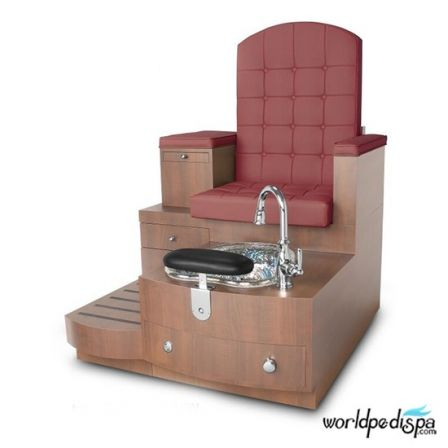 Gulfstream GS Paris Pedicure Bench - Hollyhock