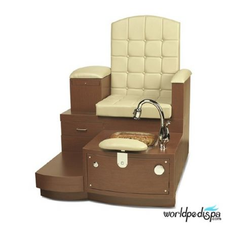 Gulfstream GS Paris Pedicure Bench - Sand