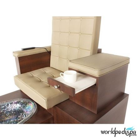 Gulfstream GS Paris Pedicure Bench - Tray