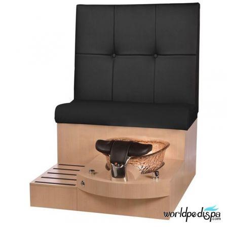 Gulfstream GS Selena Pedicure Bench - Black Maple