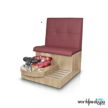Gulfstream GS Selena Pedicure Bench - Hollyhock Style 24
