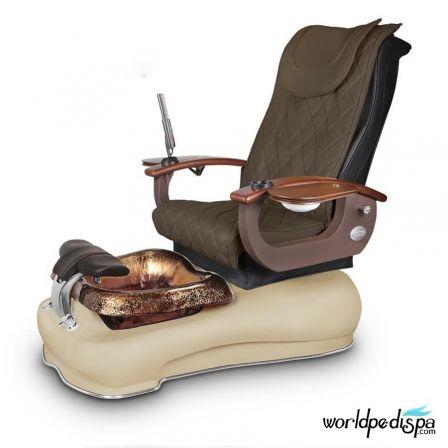Gulfstream La Fleur III Pedicure Chair - 9620 Truffle Cappuccino