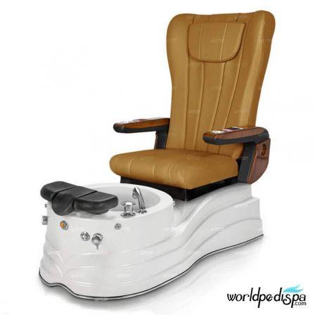 GGulfstream La Trento Pedicure Chair - Leatherhead Butterscotch