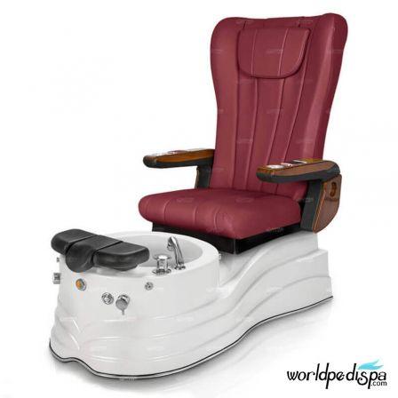 GGulfstream La Trento Pedicure Chair - Leatherhead Hollyhock