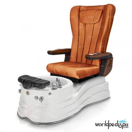 GGulfstream La Trento Pedicure Chair - Orange
