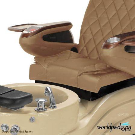 GGulfstream La Trento Pedicure Chair - Closer View