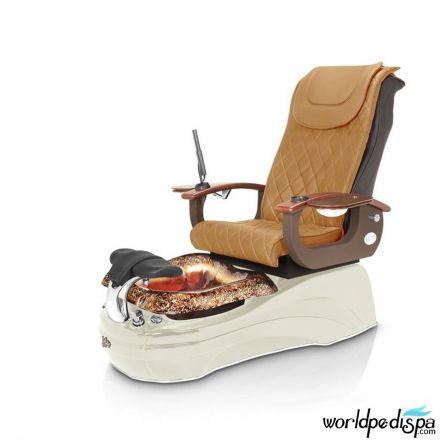 La Tulip 2 Pedicure Chair - Butterscotch White Gold