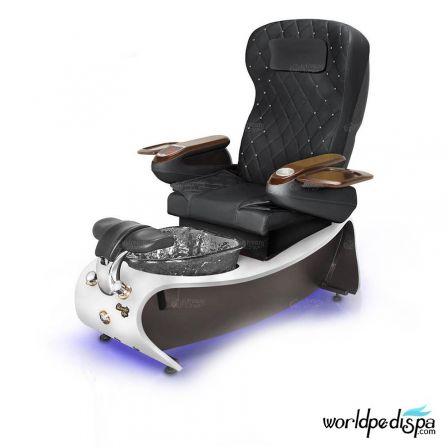 Gulfstream Lavender 3 Pedicure Chair - BlackGulfstream Lavender 3 Pedicure Chair