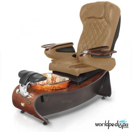 Gulfstream Lavender 3 Pedicure Chair Curry