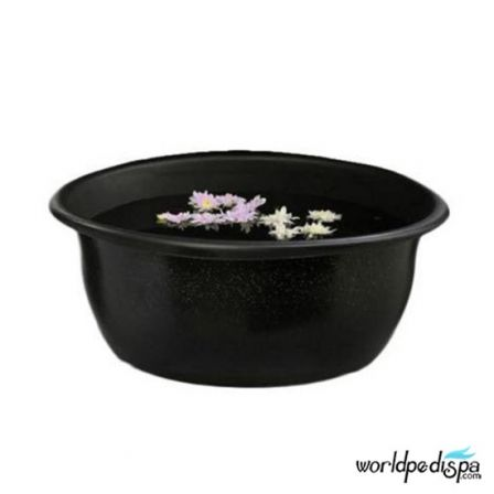 Gulfstream Mini Lavender Portable Pedicure Spa - Black bowl