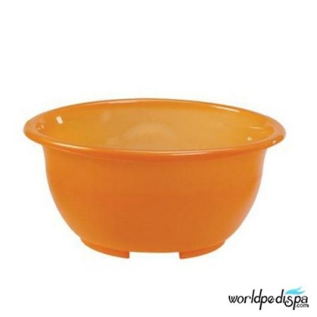 Gulfstream Mini Lavender Portable Pedicure Spa - orange bowl