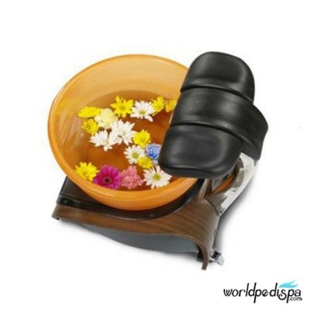 Gulfstream Mini Lavender Portable Pedicure Spa - Top View