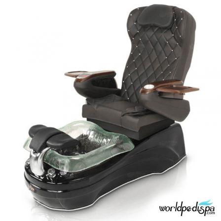 La Tulip 2 Pedicure Chair - 9660 Black Black Black