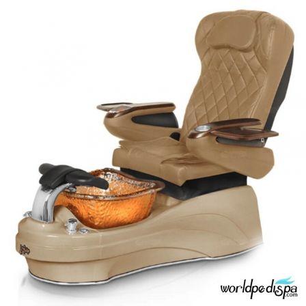 Gulfstream La Tulip 3 Pedicure Chair - Curry Cappuccino Gold