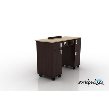 AYC - Berkeley Nail Table with  Full MarbleAYC - Berkeley Nail Table with  Full Marble