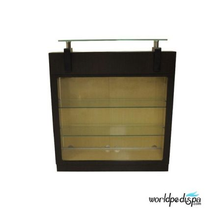 AYC - Berkeley Reception Desk with Display and Sides