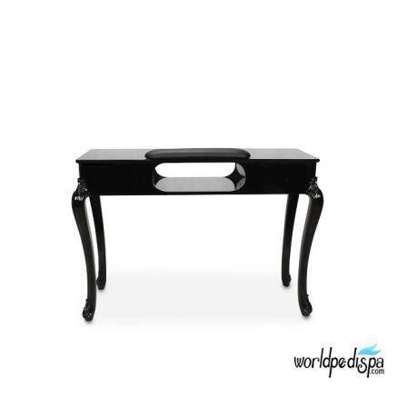 BLACK FIONA MAINICURE NAIL TABLE