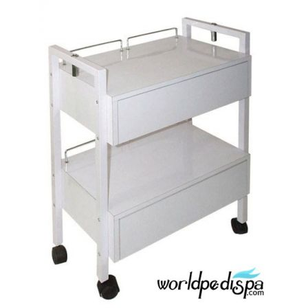BS-CSH-2701-2 Esthetician Trolley with Mag Lamp Holders