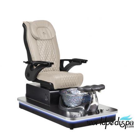 Felicity Freeform Pedicure Chair / Beige Leather