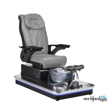 Felicity Freeform Pedicure Chair / Grey Leather