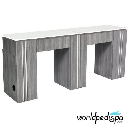 NM906 Double Manicure Table