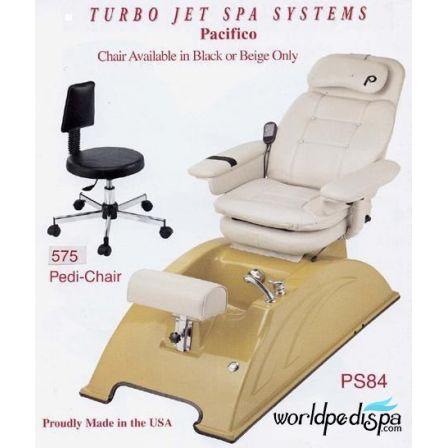 PS84A San Remo Turbo Jet Pedicure Chair