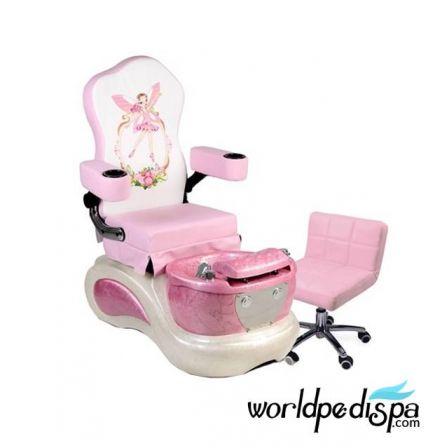 Pink Pixie Kid Pedicure Chair