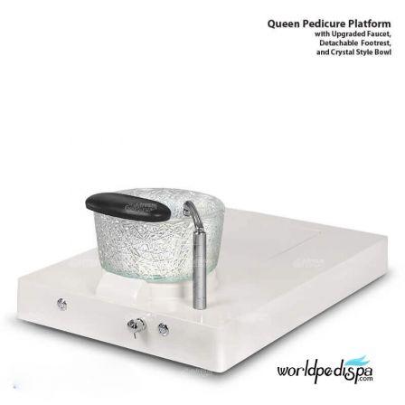 Queen Pedicure Platform