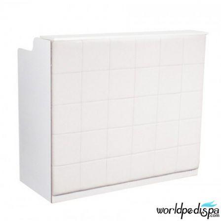 White/White/No Marble - Fab Reception Desk