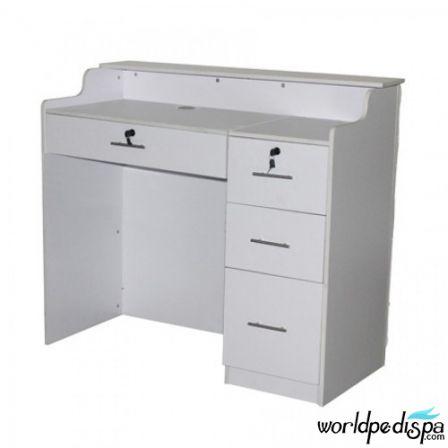 Back white or Silver - Fab Reception Desk