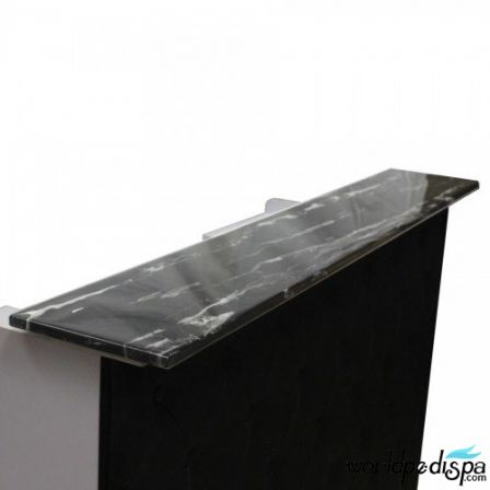 """Fab Reception Desk 60"""" Black"""