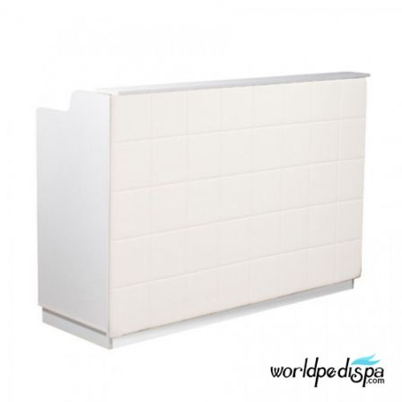 "Fab Reception Desk 60"" White"