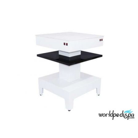 SQUARE DRYER STATION - Nail Dryer Table for Salon & Spa