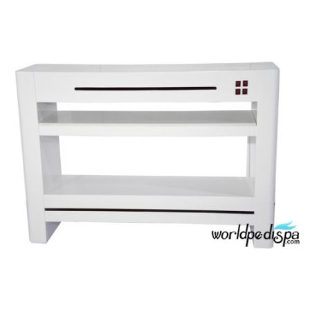 OverStock Sale- White Dryer Station - Nail Dryer Table for Salon & Spa