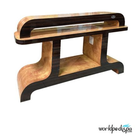 Cherry/Chestnut - Nail Dryer Table for Salon