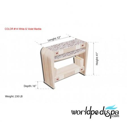 UW - JT214 Dryer Station Collection -Nail Dryer Table for Salon