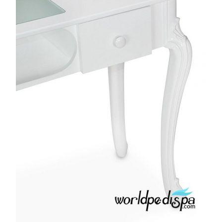 WHITE FIONA MAINICURE NAIL TABLE