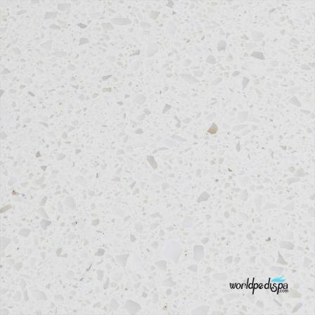 White Granite Top - Nail Dryer Table for Salon