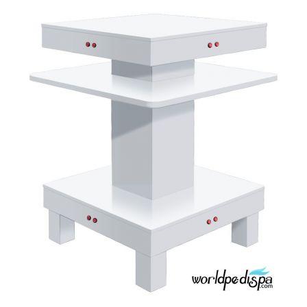 White ND11- White Square Nail Dryer