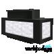 Facet Reception Desk - Daytime Lights